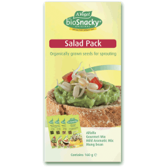 BioSnacky Salad Pack 4 Packs 160g