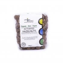 Activated Organic Hazelnuts 250g