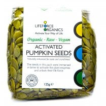Activated Pumpkin Seeds (Organic) 125g
