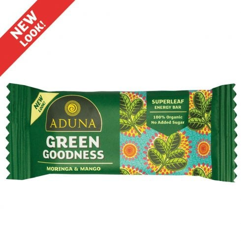 Aduna Green Goodness Energy Bar 40g