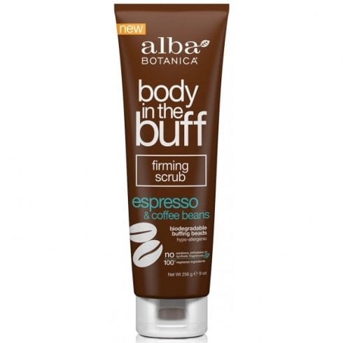 Alba Botanica Body in the Buff Firming Scrub Espresso & Coffee Beans 256g