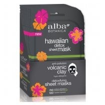 Hawaiian Detox Sheet Mask Anti-Pollution Volcanic Clay