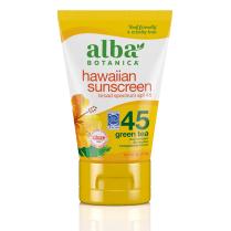 Alba Botanica Hawaiian Sunscreen SPF45 Green Tea 113g