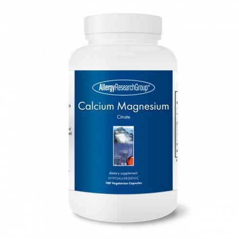 Allergy Research Calcium Magnesium Citrate 100's (Currently Unavailable)
