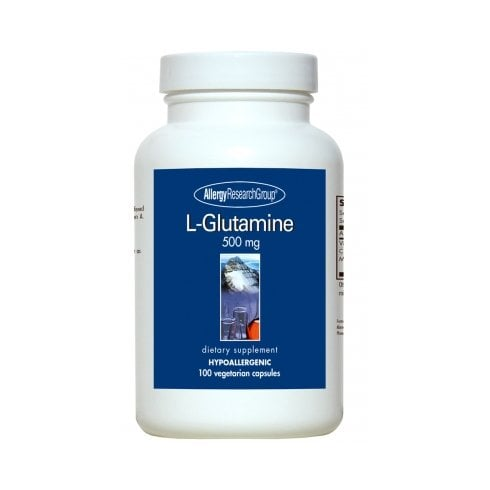 Allergy Research L-Glutamine, 500mg 100's