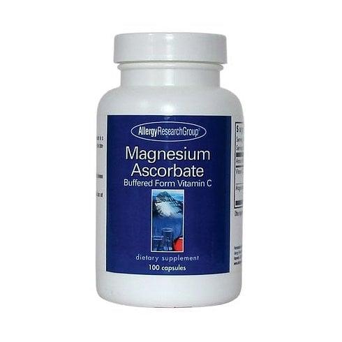 Allergy Research Magnesium Ascorbate (Vitamin C) 100's