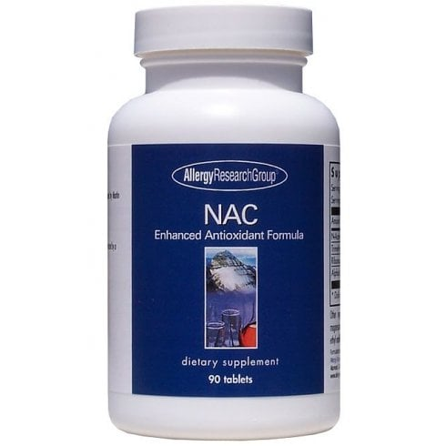 Allergy Research NAC Enhanced Antioxidant Formula 90's