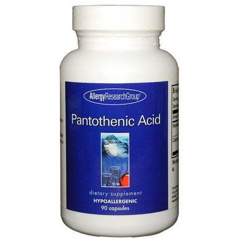 Allergy Research Pantothenic Acid  90's