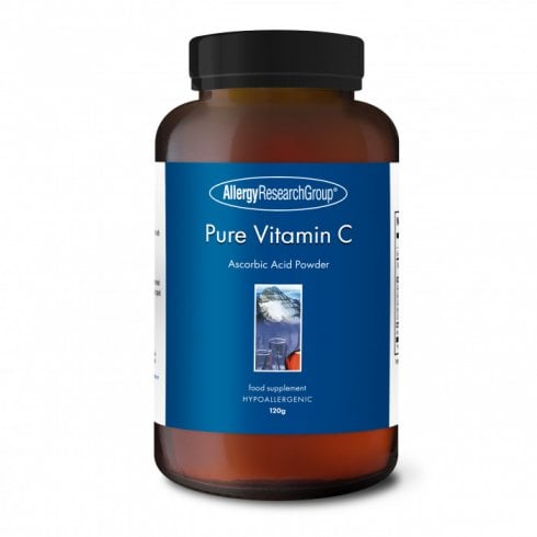 Allergy Research Pure Vitamin C Ascorbic Acid Powder 120g