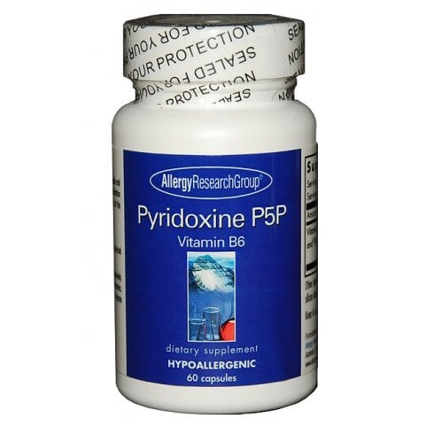 Allergy Research Pyridoxine P5P 60's
