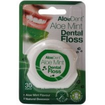 Aloe Vera Dental Floss Flouride Free Aloe & Mint Flavour 30m