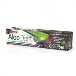 Aloe Vera Triple Action Charcoal Toothpaste (Strong Mint) 100ml