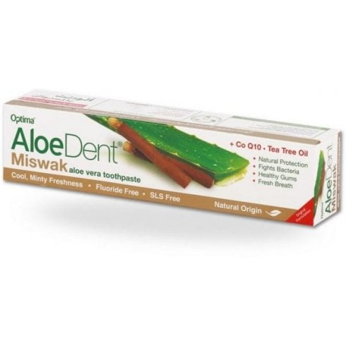 Aloe Dent Miswak Toothpaste (Fluoride Free) 100ml (Currently Unavailable)