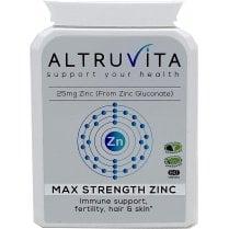 Altruvita Max Strength Zinc 60's