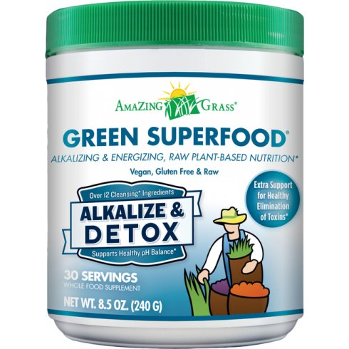 Amazing Grass Alkalize Detox Green Super Food 240g