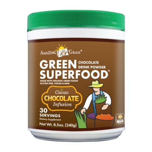 Amazing Grass Chocolate Green Super Food (30 Servings) 240g