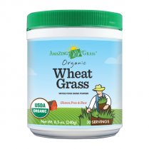 Organic Wheat Grass Gluten Free & Raw 240g