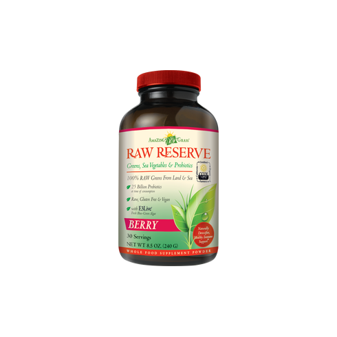 Amazing Grass Raw Reserve Green Super Food Berry 240g