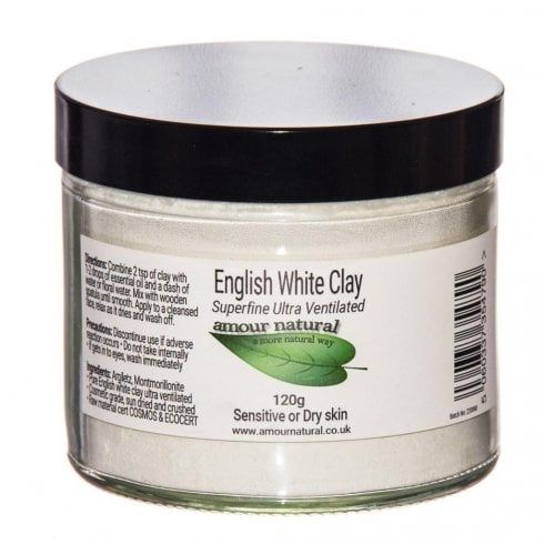 Amour Natural English White Clay 120g