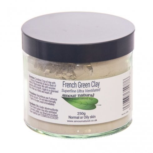 Amour Natural French Green Clay 200g