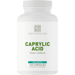 Amy Myers MD Caprylic Acid - 120 Capsules