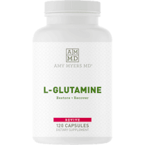 Amy Myers MD L- Glutamine 850mg - 120 Capsules