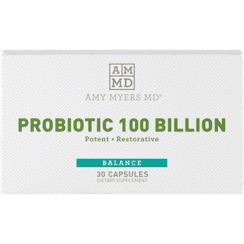 Amy Myers MD Probiotic Capsules 100 Billion - 30 Capsules