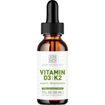 Amy Myers MD Vitamin D3/K2 Liquid - 30ml