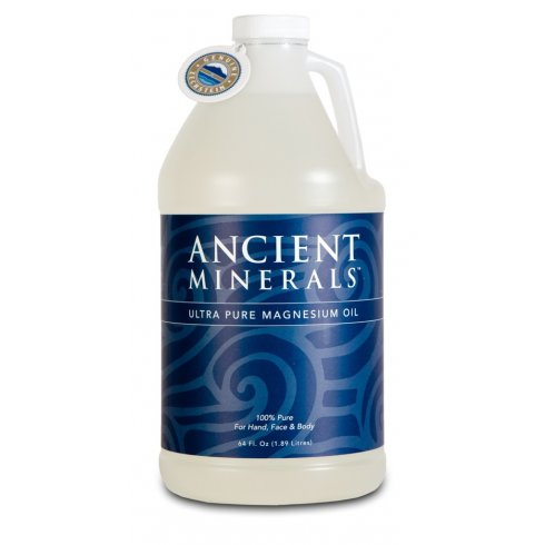 Goodhealthnaturally Ancient Minerals Magnesium Gel Plus 64oz / 1.894 litre