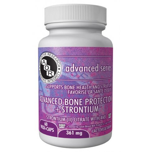 AOR Advanced Bone Protection + Strontium - 361mg - 60 vegi-caps