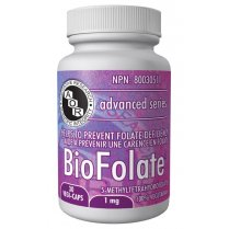 Bio Folate  - 1mg - 30 vegi-caps