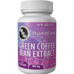 Green Coffee Bean Extract - 400mg - 60 vegi-caps