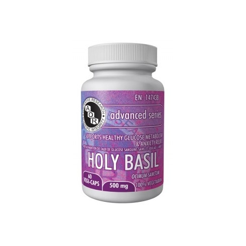 AOR Holy Basil - 500mg - 60 vegi-caps