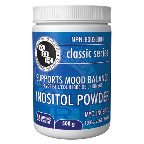 AOR Inositol Powder - 500g - 56 servings
