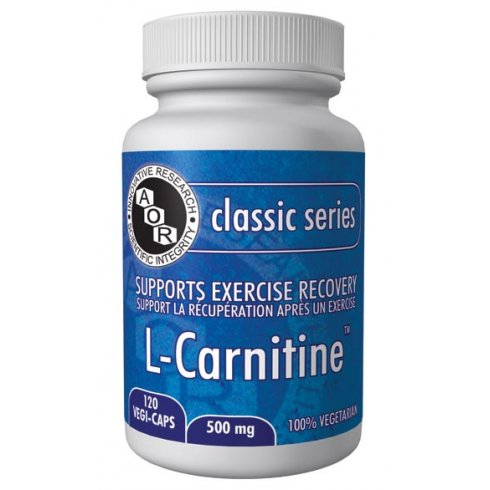 AOR L-Carnitine - 500mg - 120 vegi-caps