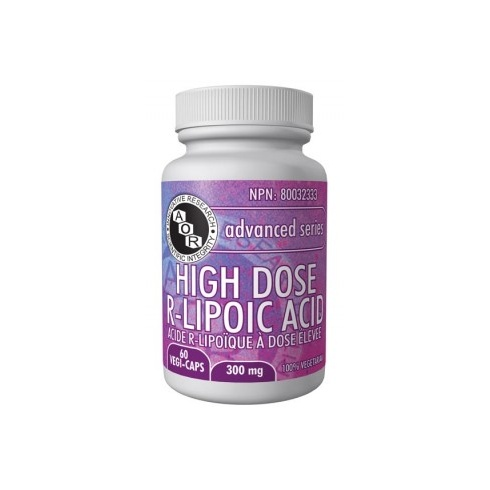 AOR R-Lipoic Acid (High Dose) - 300mg - 60 vegi-caps