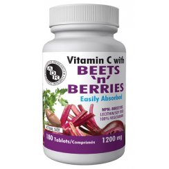 Vitamin C with beets and berries - 1200mg - 180 tablets