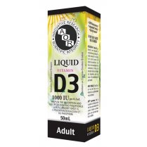 Vitamin D3 Liquid - 1000iu - 50ml (Adult)
