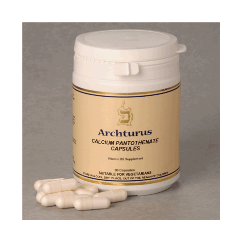 Archturus Calcium Pantothenate 500mg 90's