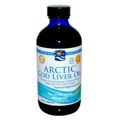 Arctic Cod Liver Oil - Orange 237ml (CURRENTLY UNAVAILABLE)