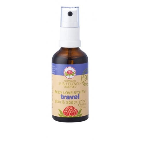Australian Bush Flower Essences Travel Skin & Space Mist  50ml
