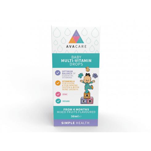 Avacare Baby Multi-Vitamin Drops 30ml