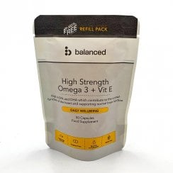 Balanced High Strength Omega 3 + Vit E (Refill Pack) 50's