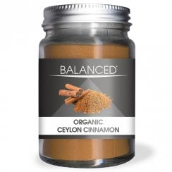 Balanced Organic Ceylon Cinnamon Powder 36g