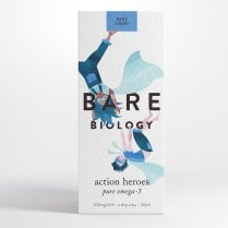 Bare Biology Action Heroes Pure Omega-3 100ml