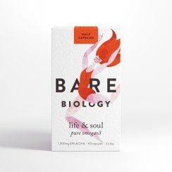 Bare Biology Life & Soul Pure Omega-3 (formerly Lion Heart) 60's
