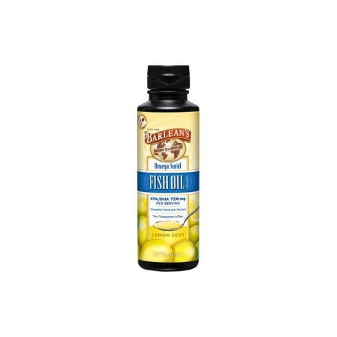 Barleans Omega Swirl Fish Oil Lemon Zest 227g (Currently Unavailable)