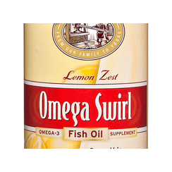 Omega Swirl Fish Oil Lemon Zest 454ml (Currently Unavailable)