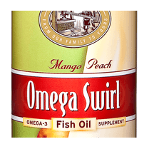 Omega Swirl Fish Oil Mango Peach 227ml (Currently Unavailable)