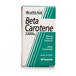 Beta Carotene (natural) 15mg